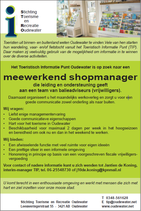 TIP-Oudewater_vacature shopmanager